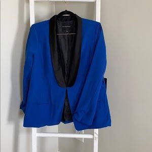 Rock & republic royal blue tuxedo suit jacket